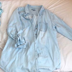 CHARLOTTE RUSSE DEMIN SHIRT DRESS